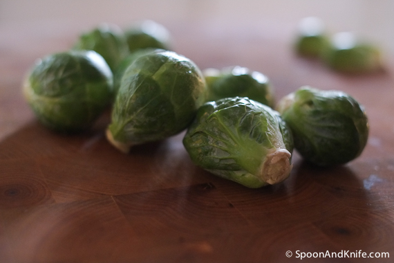 Brussels Sprouts to be Caramelized