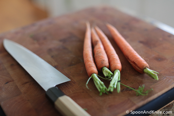 Carrots for Gluten-Free Meatloaf